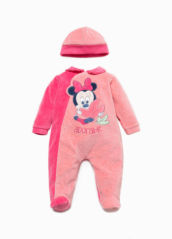 Minnie Mouse hat and onesie set | OVS