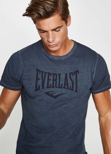 T-shirt in 100% cotton with Everlast print
