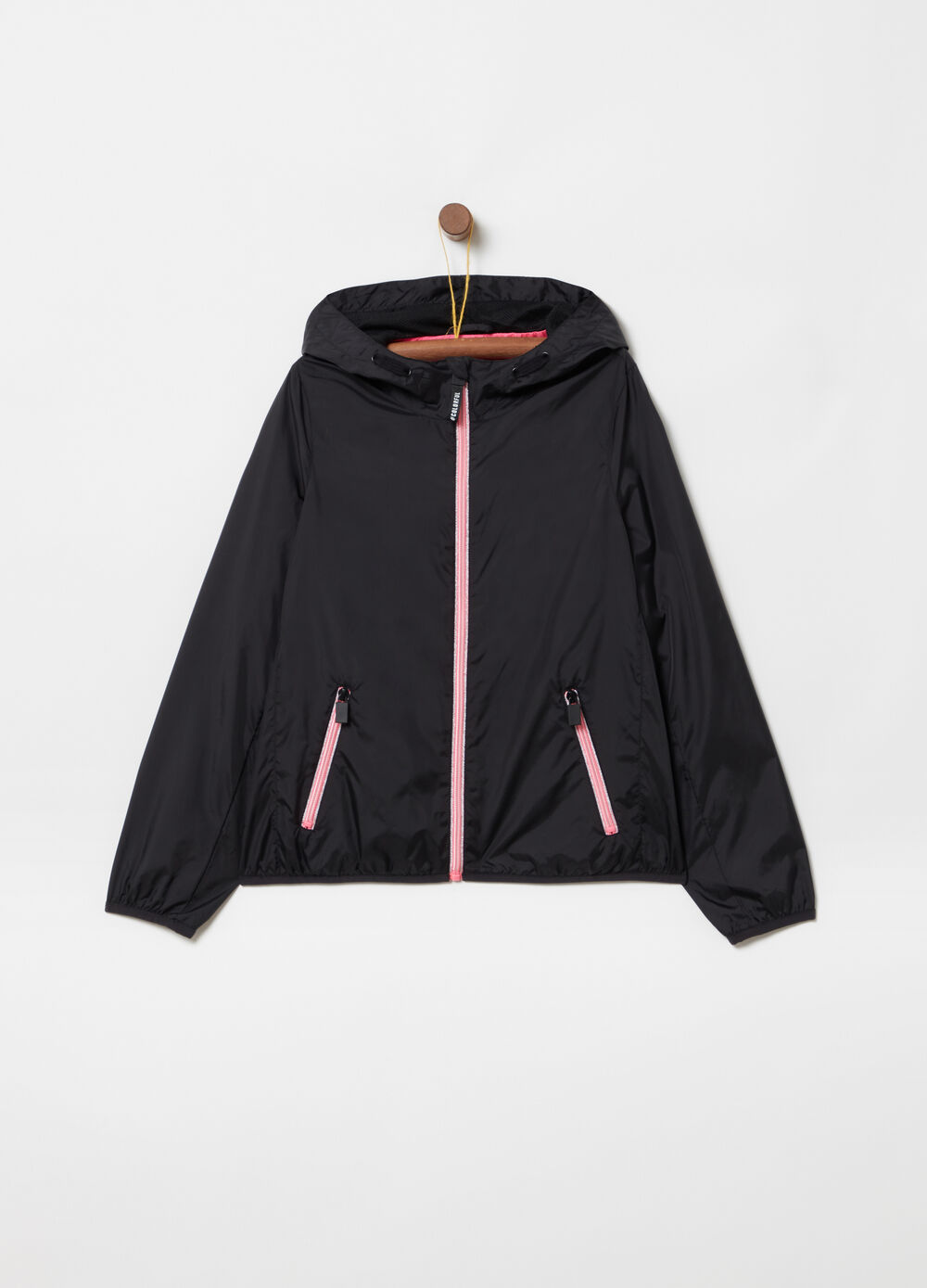 Lightweight jacket with pockets and hood