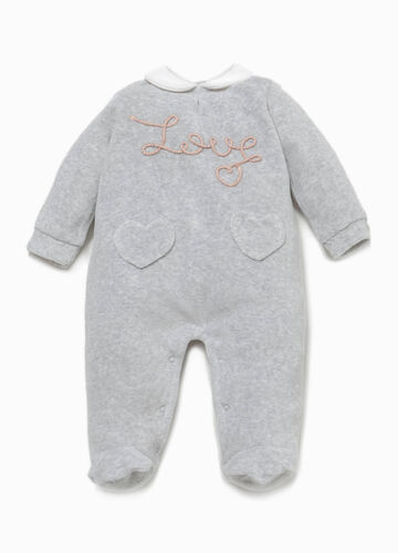 Better Cotton sleepsuit with patch