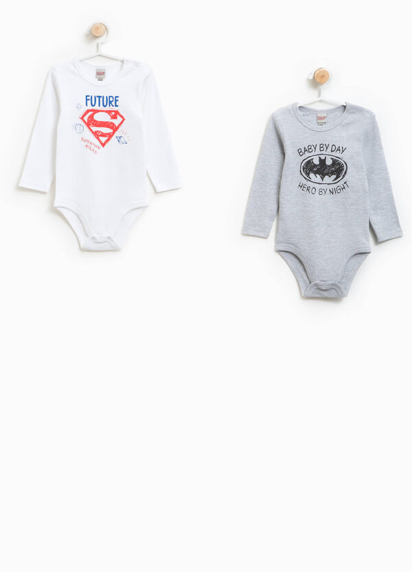 Set consisting of two Justice League bodysuits in 100% cotton | OVS