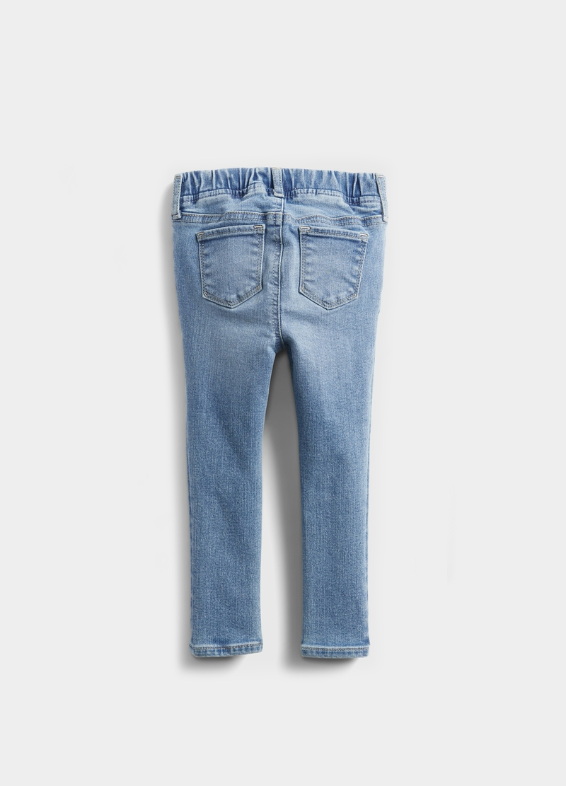 GAP jeggings with abrasions image number null