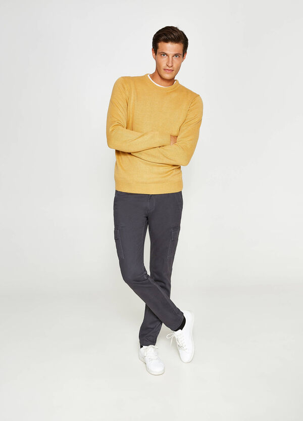 Regular-fit cargo trousers in 100% cotton | OVS
