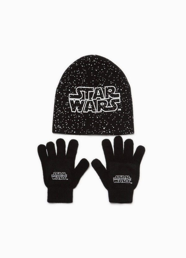 Star Wars beanie cap and gloves set | OVS
