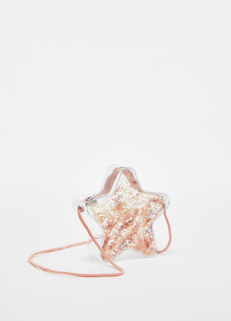 Transparent star shoulder bag image number null