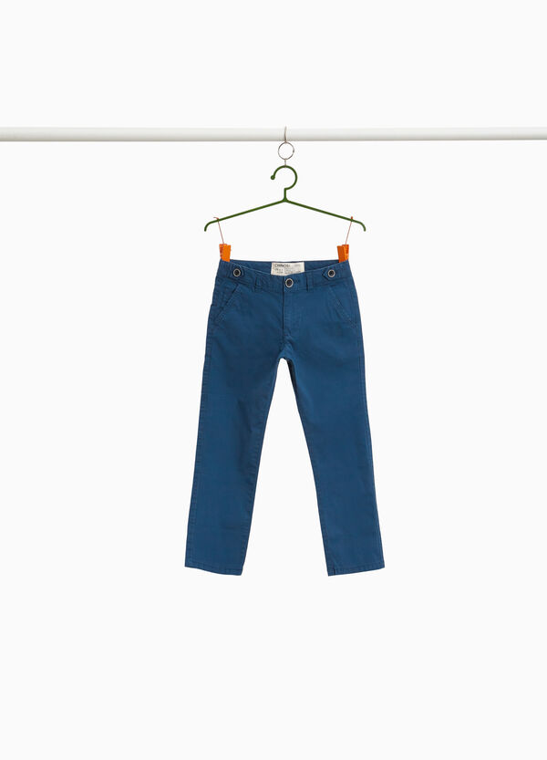 Chino-Hose geometrisches Muster