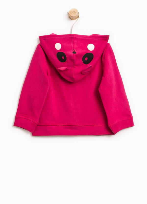 Hoodie with animal patches and diamantés | OVS