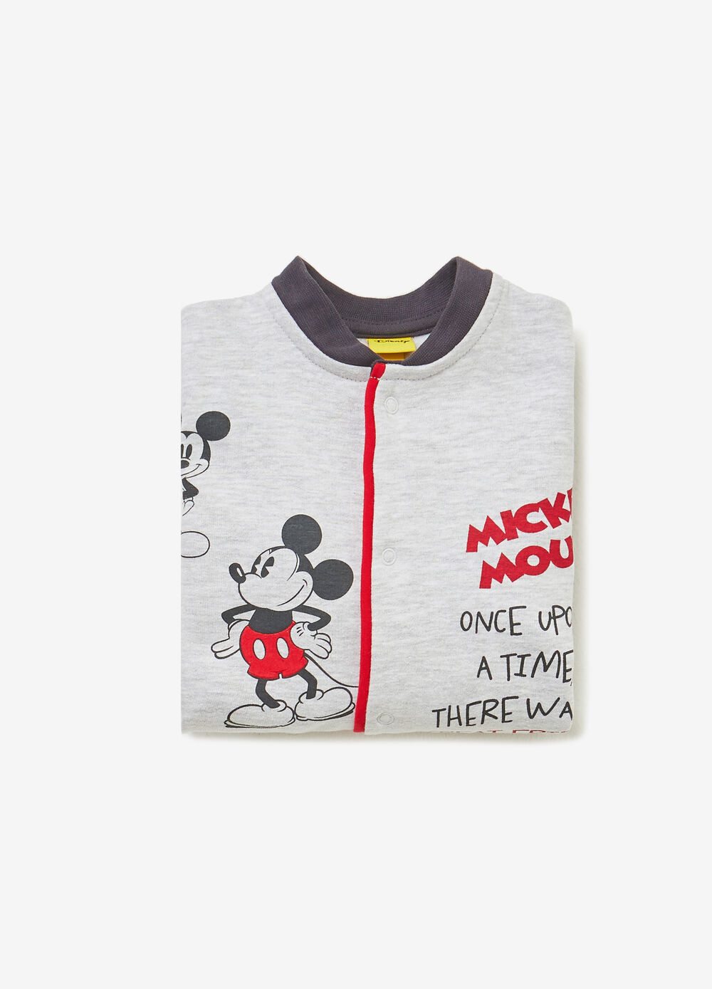 Mickey Mouse sleepsuit in BCI cotton