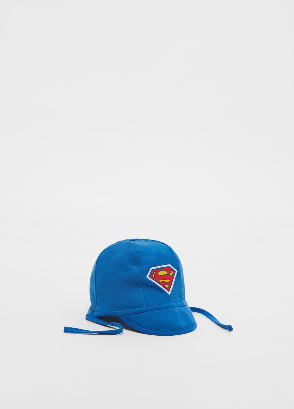 100% organic cotton cap with Superman motif