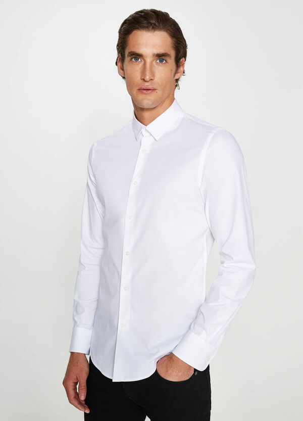 Camicia formale custom fit in cotone