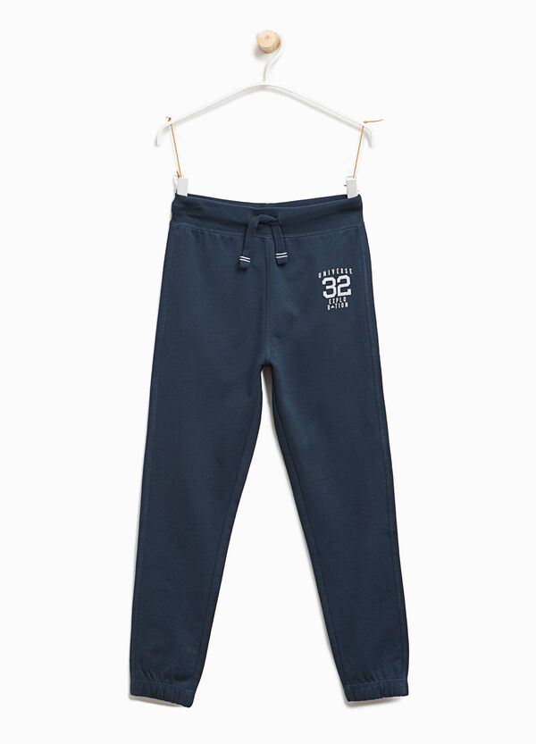 Joggers with lettering | OVS