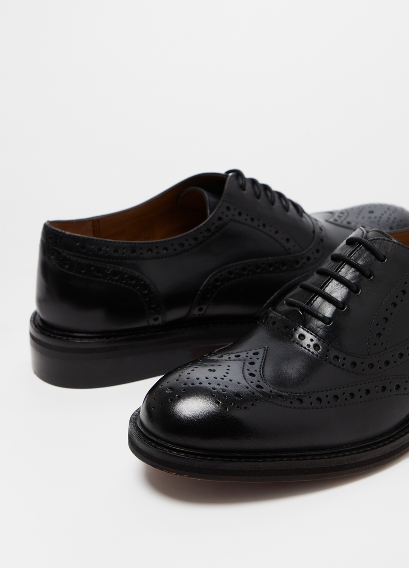 PIOMBO Derby-style Oxfords with laces image number null