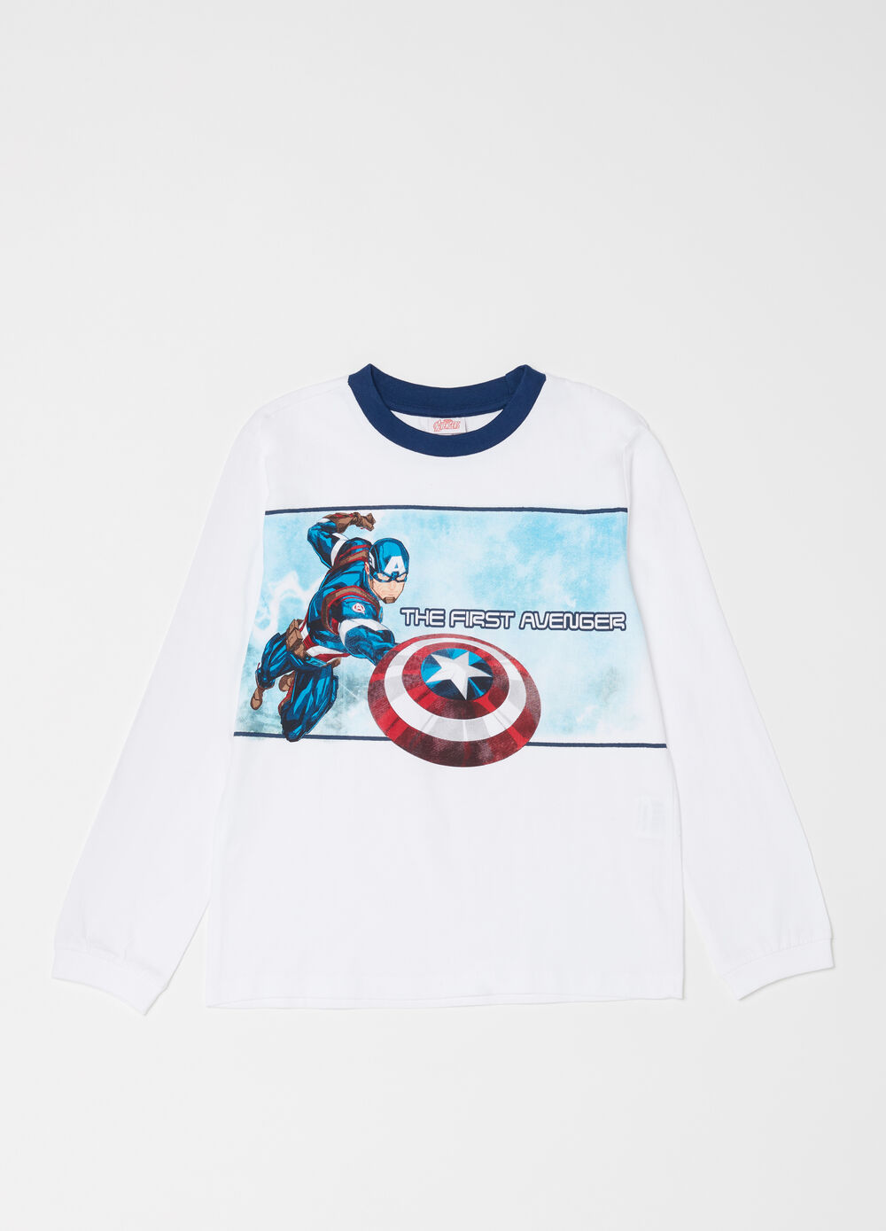 Marvel Avengers 100% cotton full-length pyjamas