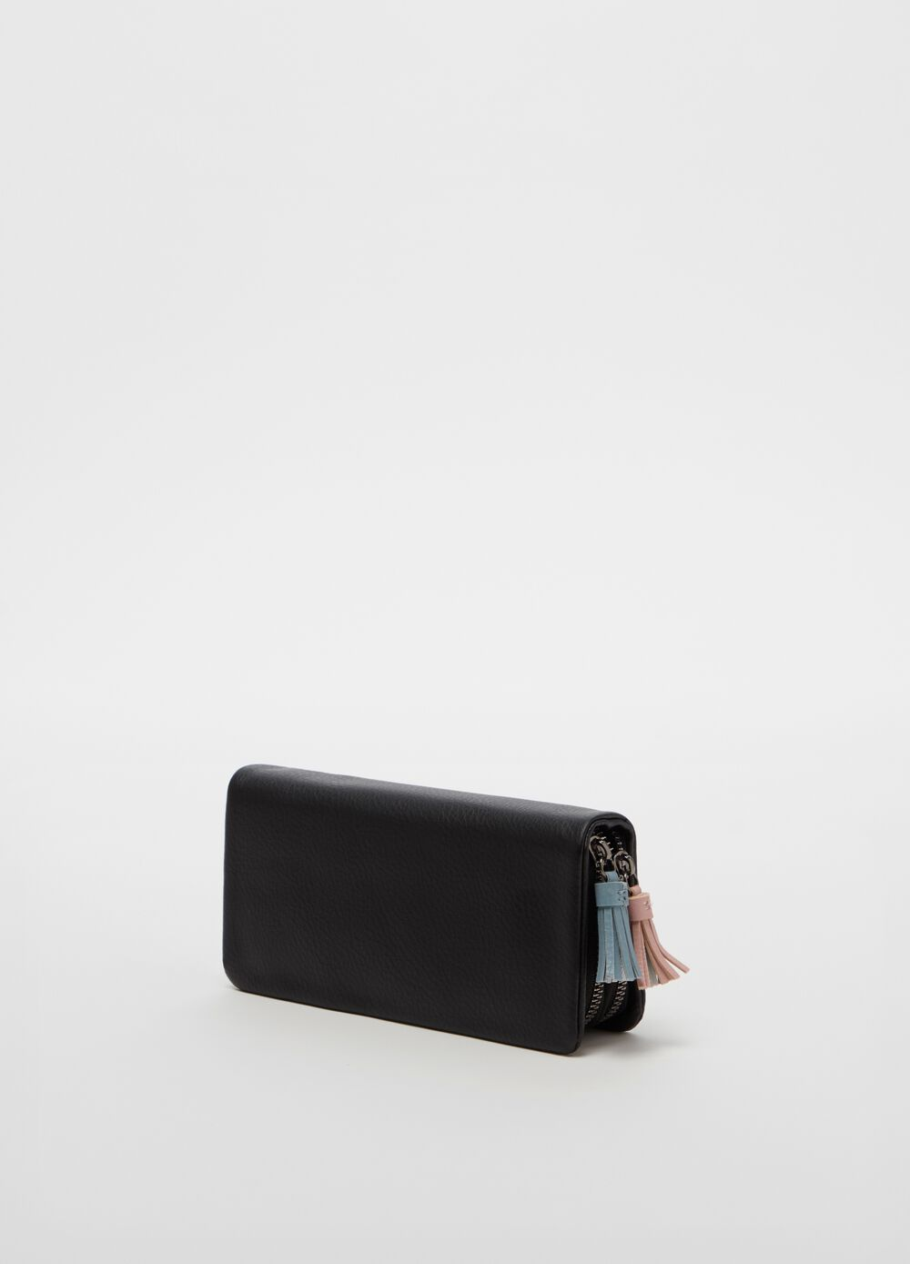 Wallet with double compartment