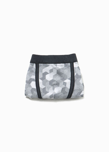 Organic cotton boxers with pattern