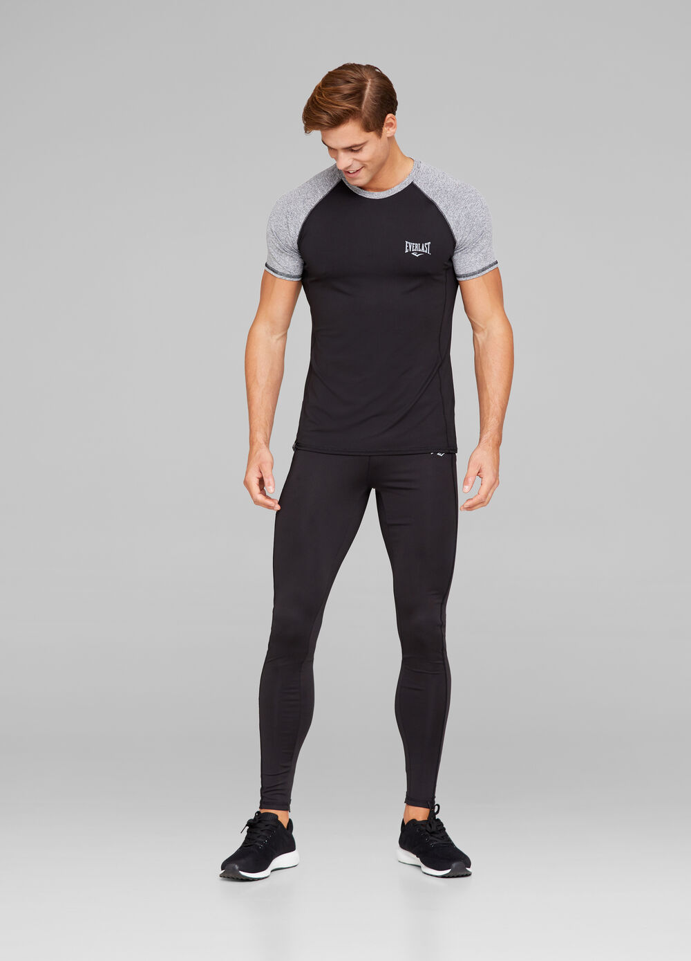 Everlast gym trousers with print