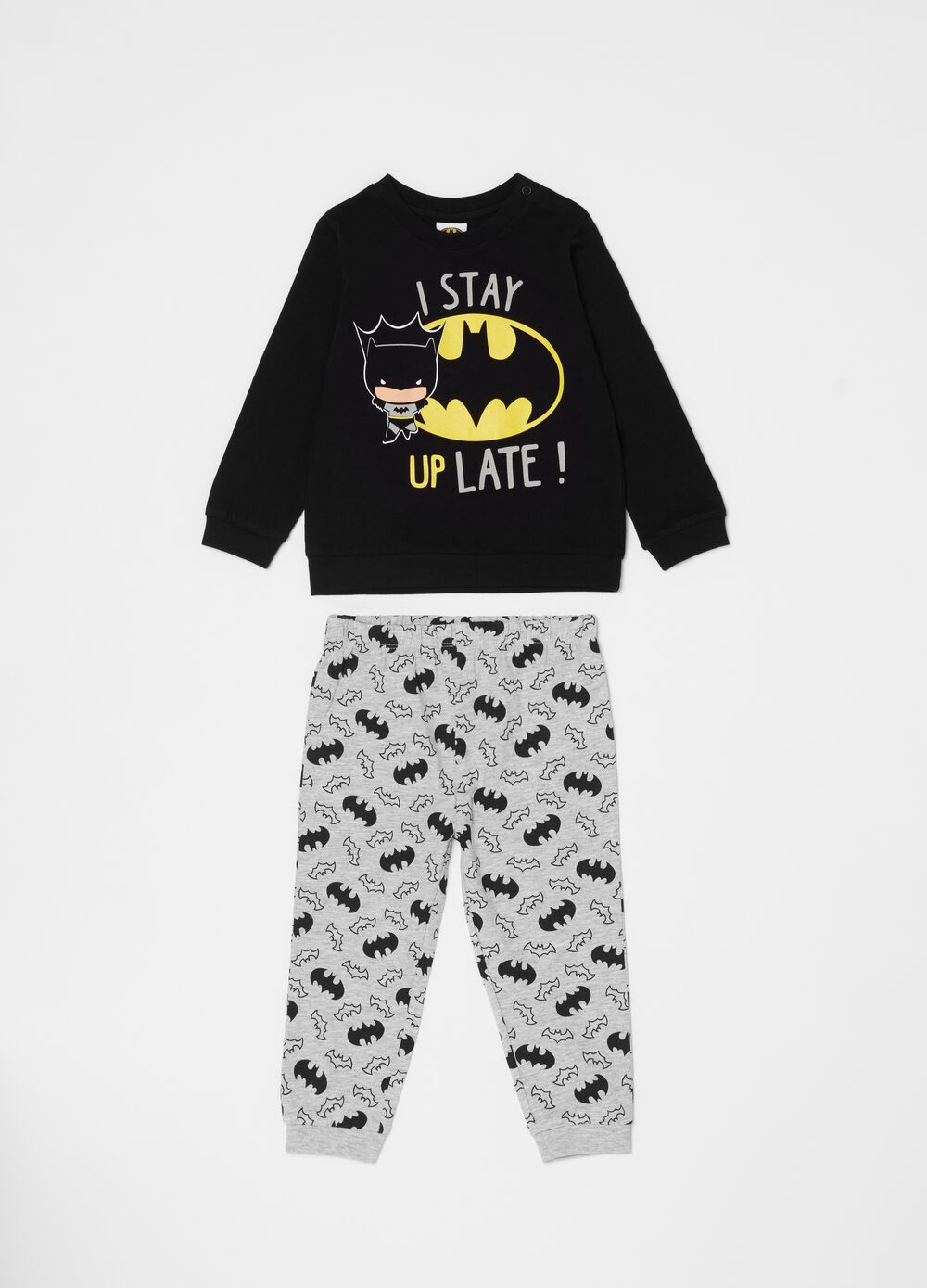 Long Warner Bros Batman pyjamas