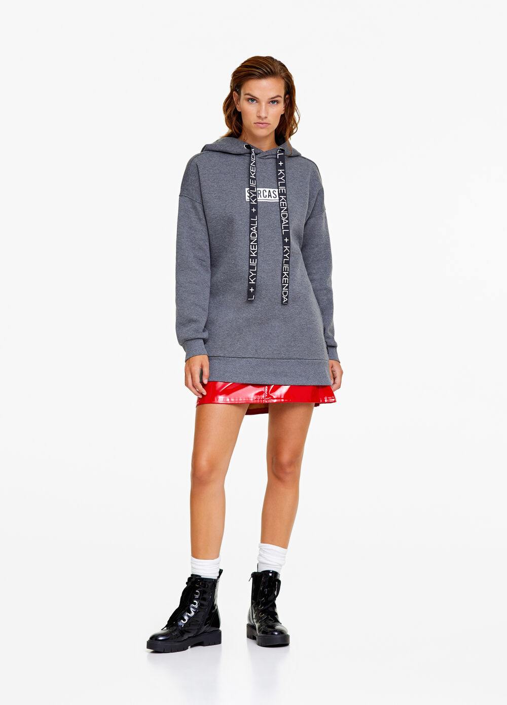 K+K for OVS long mélange sweatshirt