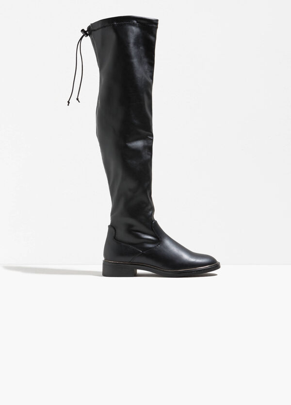 Boots with drawstring and rubber soles | OVS