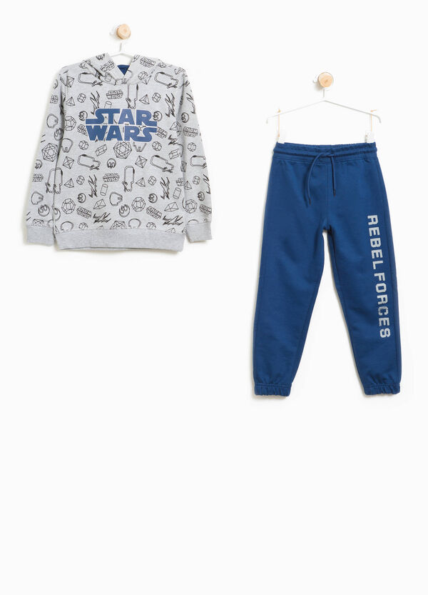 100% cotton tracksuit with Star Wars pattern | OVS