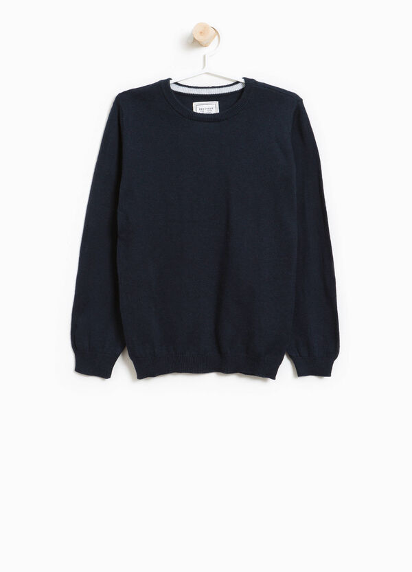 Cashmere and cotton pullover | OVS