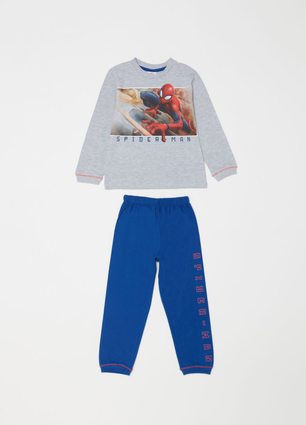 Marvel Spider-Man full-length pyjamas in lightweight cotton