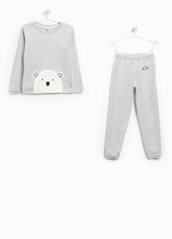 Pyjamas with patch and animal embroidery | OVS