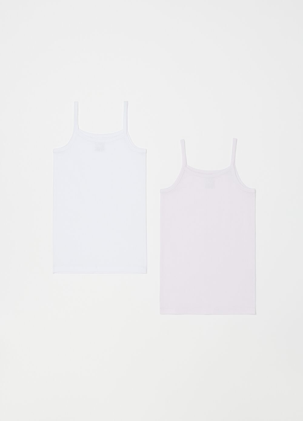 Two-pack solid colour under vests