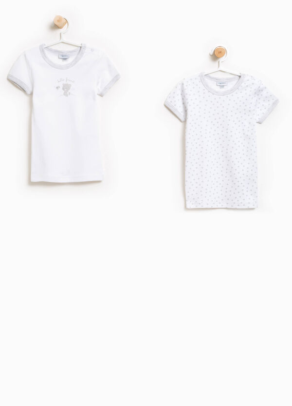 Two-pack printed and patterned under shirts | OVS