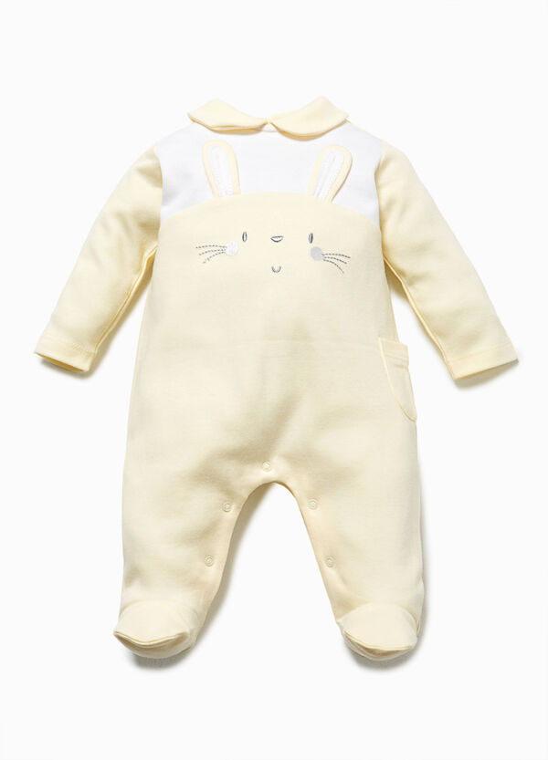 Onesie with embroidery and ears | OVS