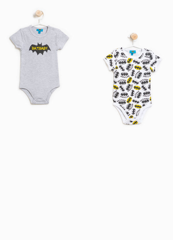 Two-pack Batman bodysuits patterned and printed   OVS