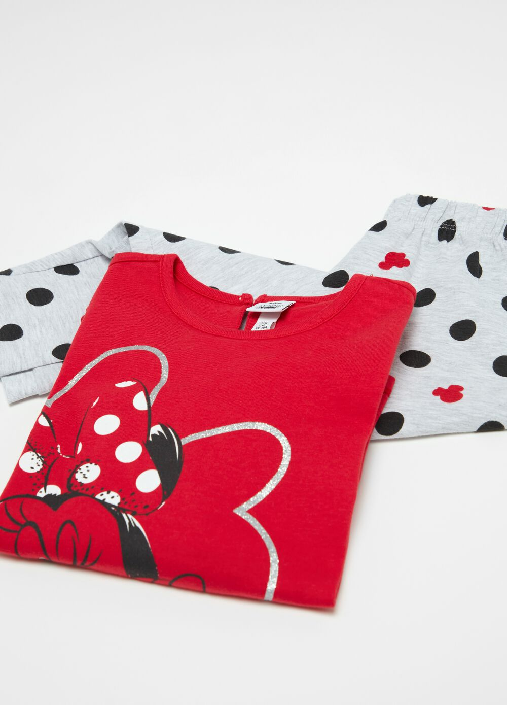 Pyjamas with Disney Minnie Mouse pattern