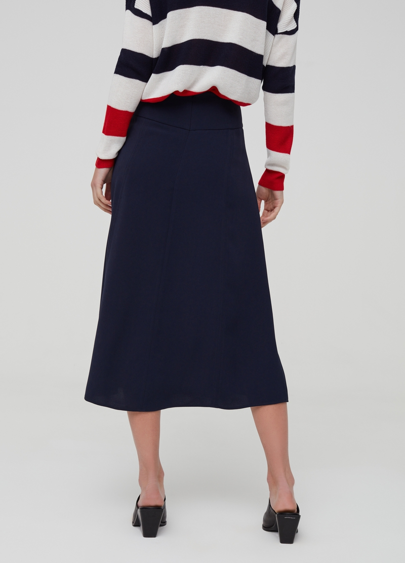 Skirt with buttons image number null