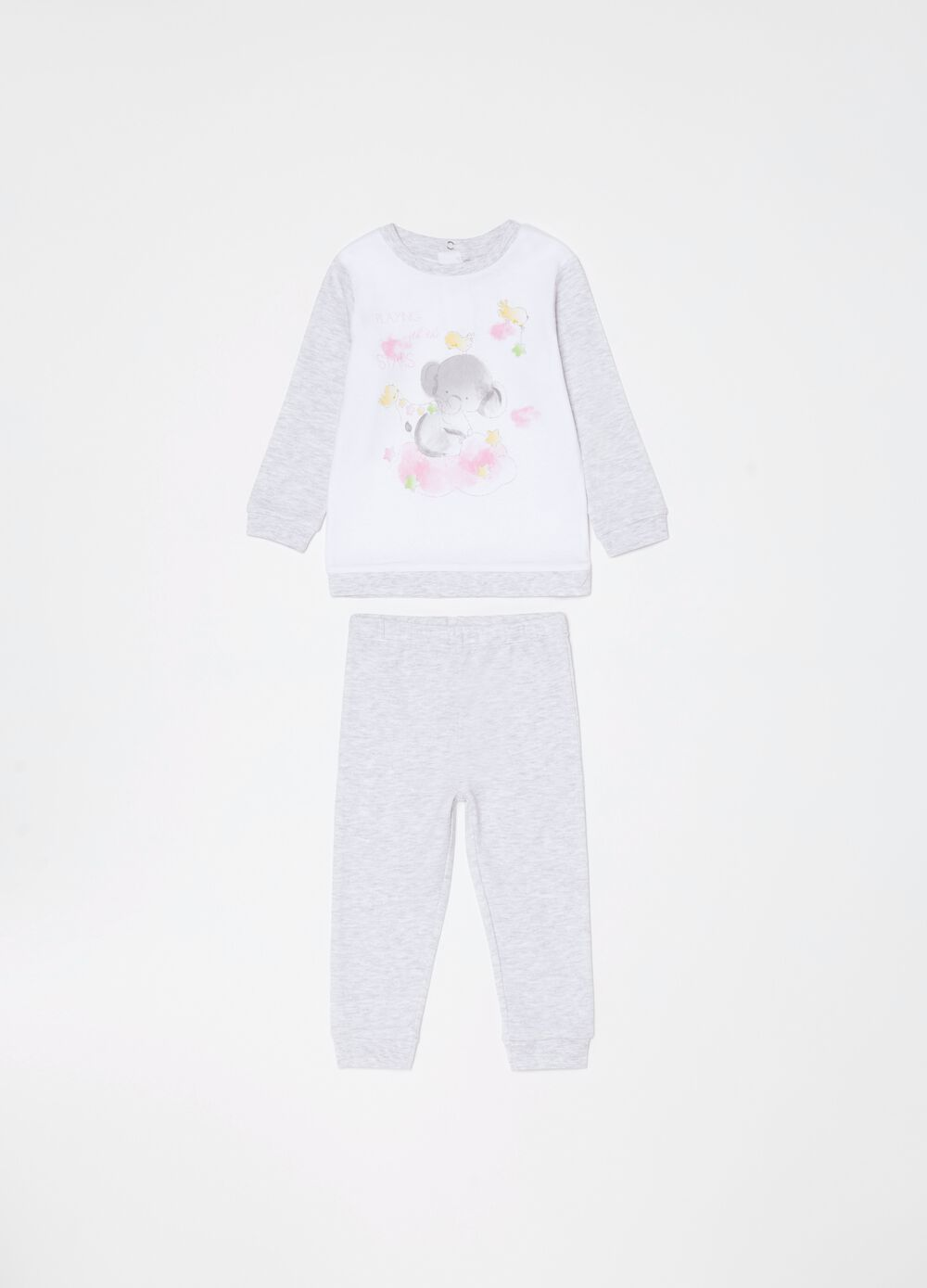 Pyjamas in organic cotton