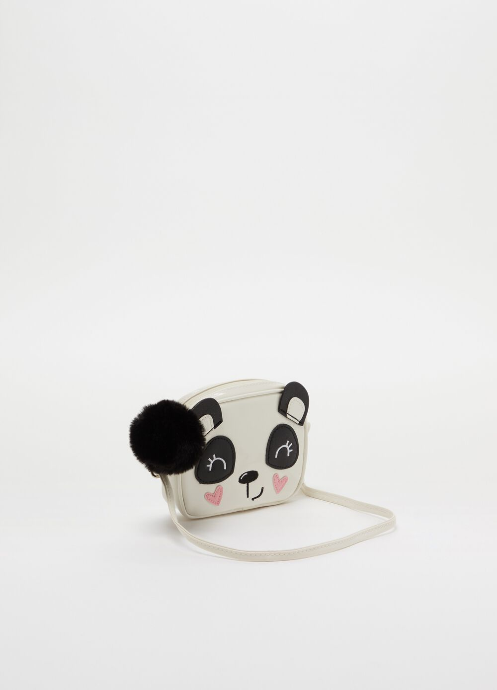 Shoulder bag with panda