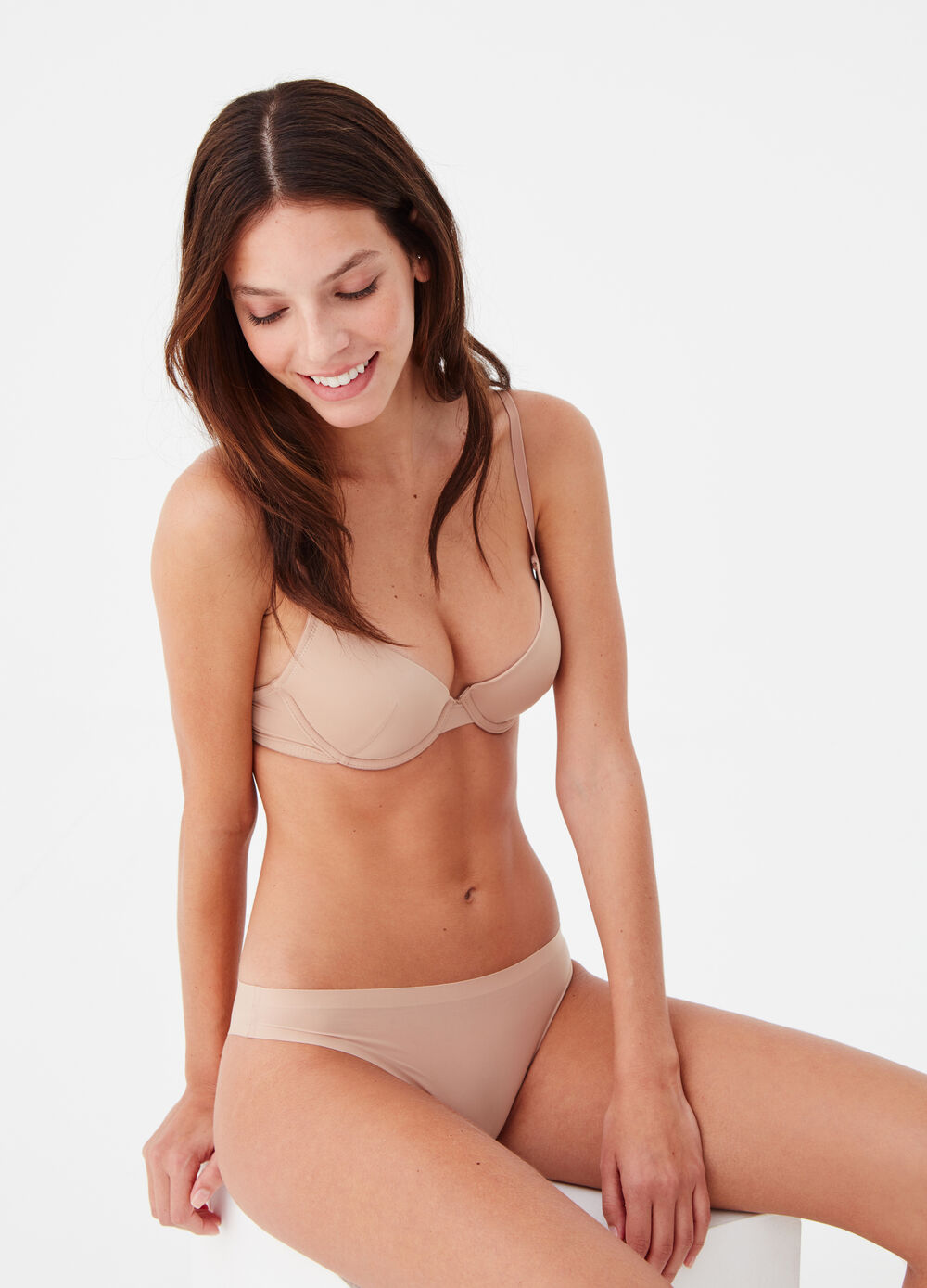 Invisible Brazilian-cut briefs