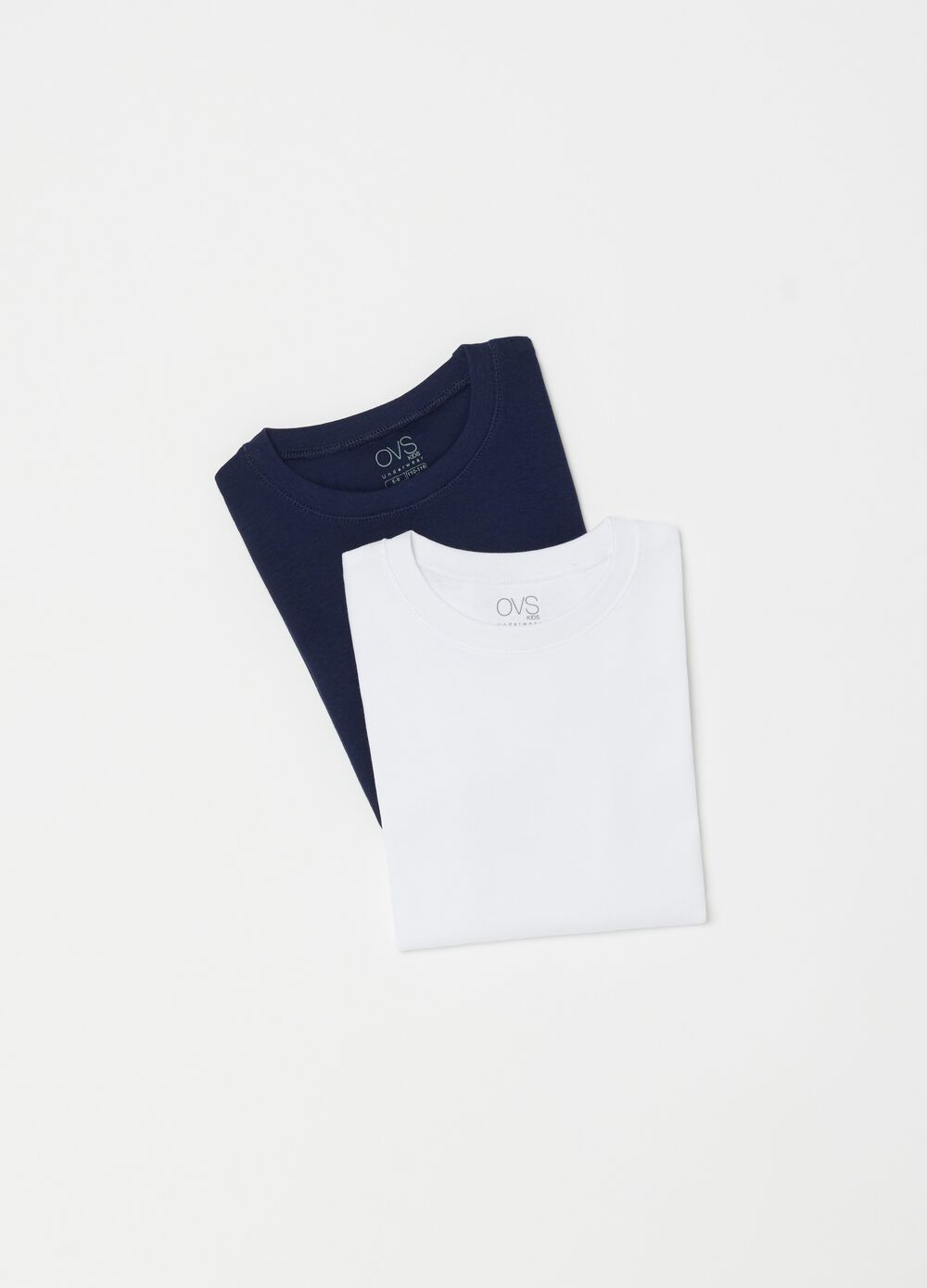 Two-pack 100% organic cotton undershirts