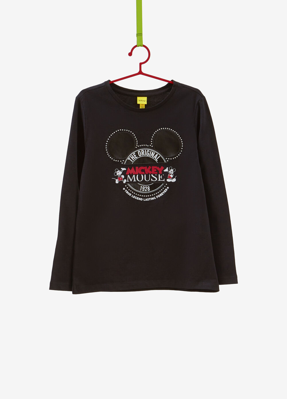 Mickey Mouse print 100% cotton T-shirt