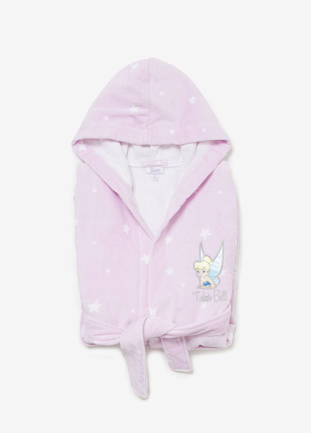 BCI bathrobe with Tinkerbell patch