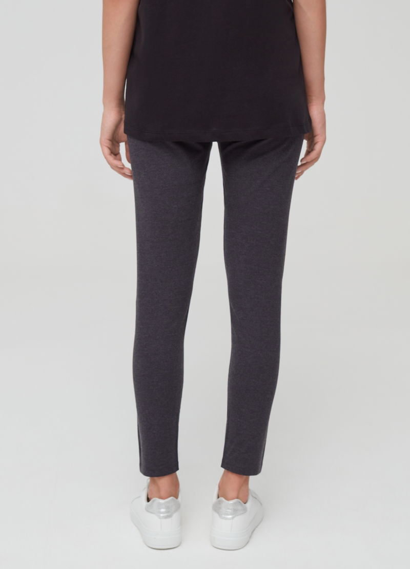 Stretch leggings with small studs image number null