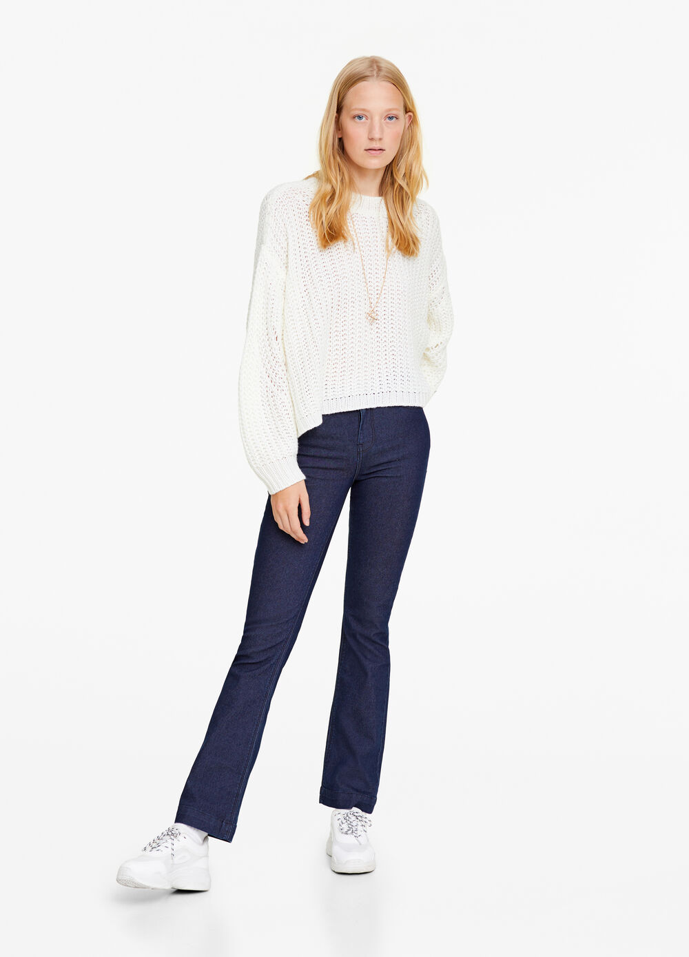 Bootcut stretch fit jeans