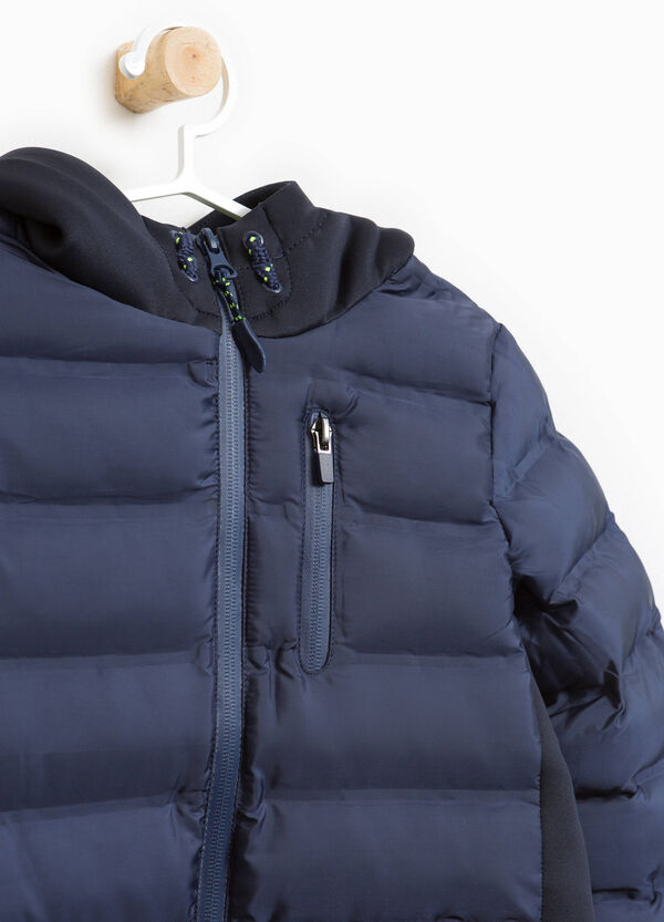 Jacket with hood and drawstring | OVS