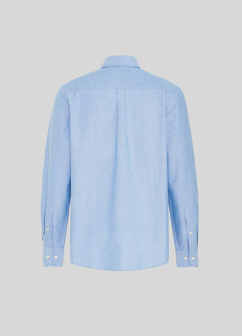 PIOMBO 100% cotton shirt with small pocket image number null