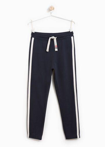 Joggers with side inserts