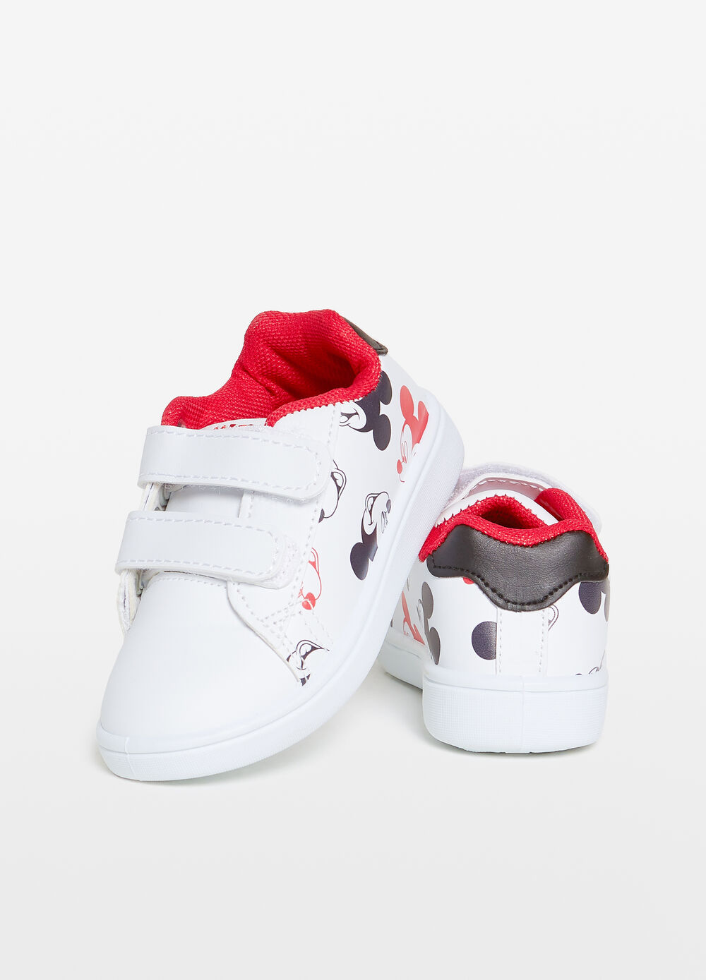 Mickey Mouse patterned sneakers