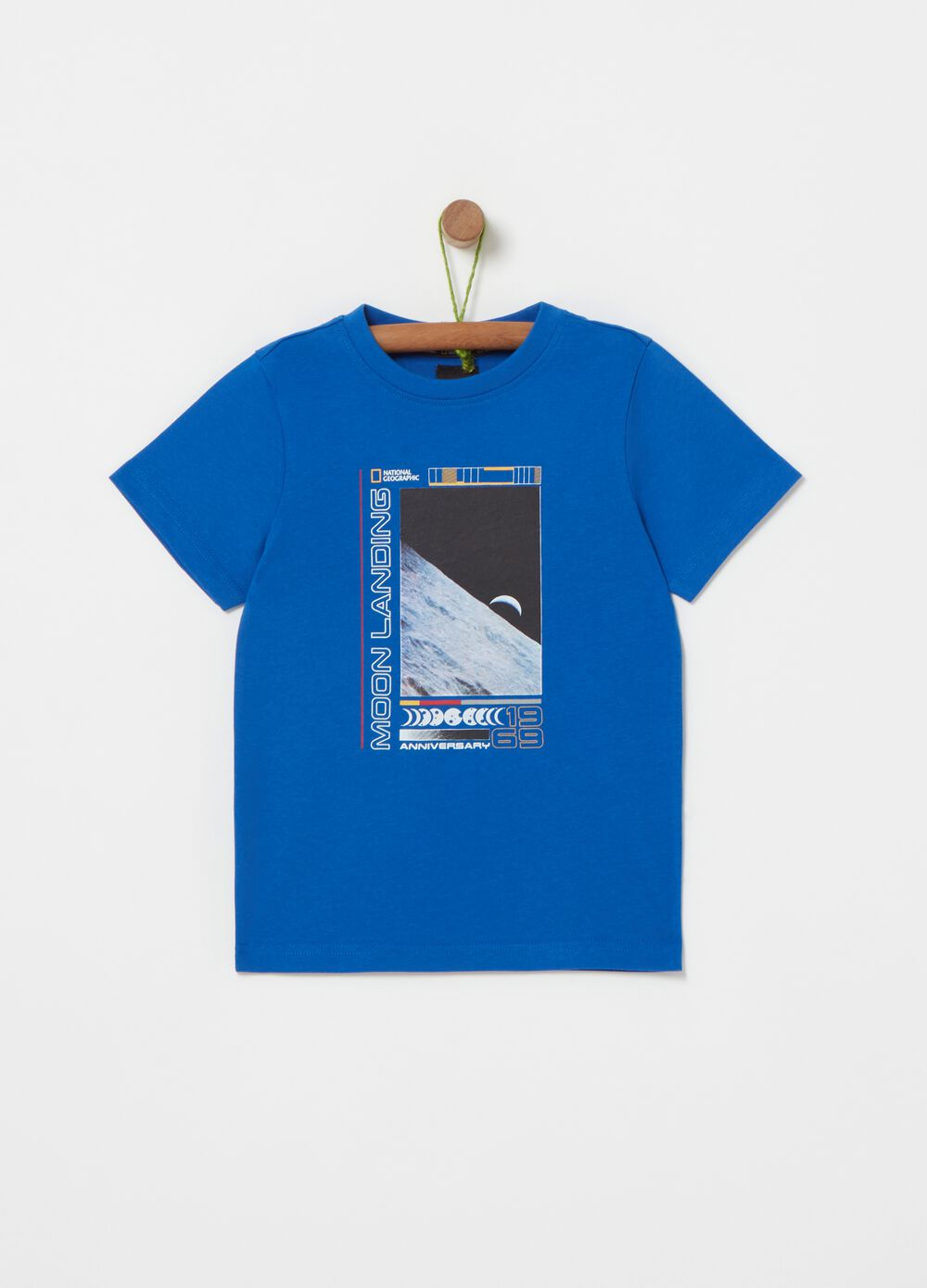 T-shirt with National Geographic print