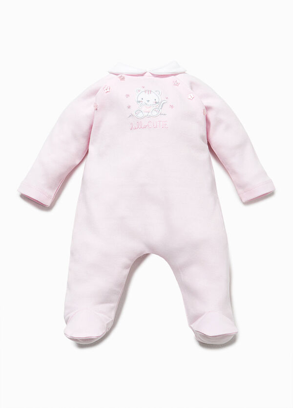 Cotton onesie with collar | OVS