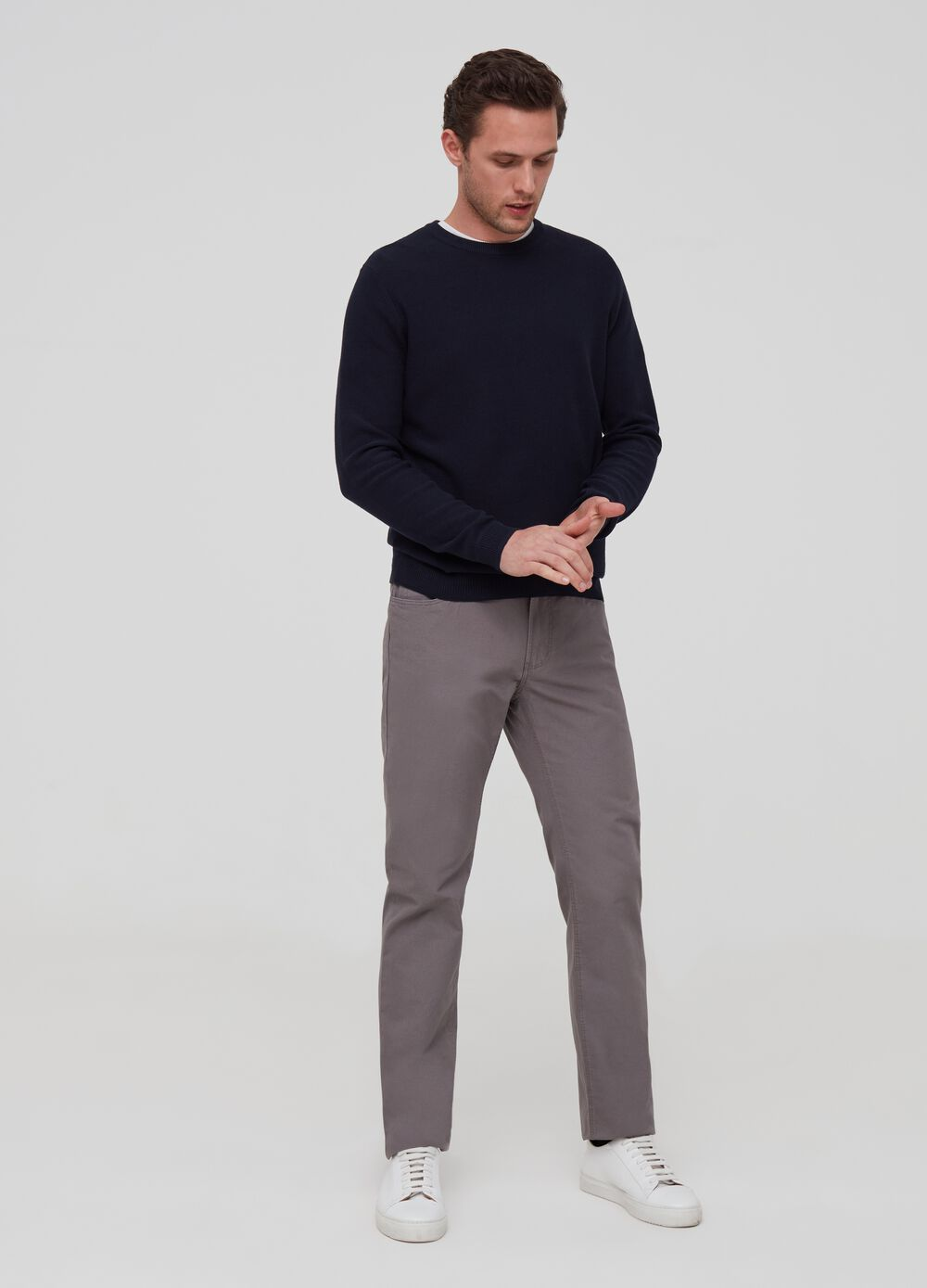 Regular-fit trousers with five pockets