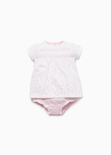 THUN two-tone romper suit in 100% cotton