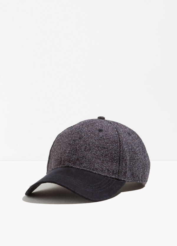 Solid colour baseball cap